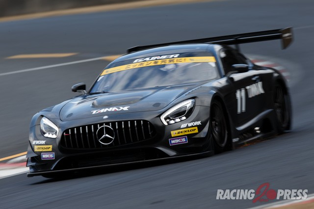 GAINER Mercedes AMG-GT3がシェイクダウン