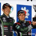 #38 MUTA Racing TWS IS 350 阪口 良平・堀田 誠 (撮影:鉄谷康博)