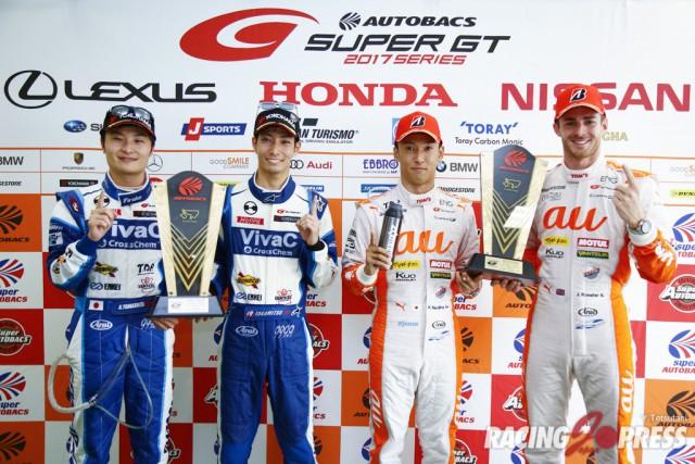 SUPER GT Rnd3 オートポリス 決勝結果