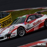 ST-1クラスポールポジション #31 Nissoku Porsche991GT3 Cup(小川 勝人/影山 正美/富田 竜一郎)