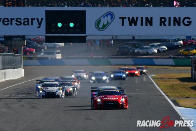 SUPER GT Rnd8 もてぎ 決勝結果