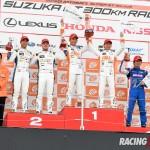 GT500クラス表彰式
