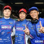 GT500クラス ポールポジション #6 WAKO'S 4CR LC500(山下 健太/大嶋 和也/脇阪 寿一 監督)