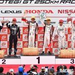 GT300クラス表彰式