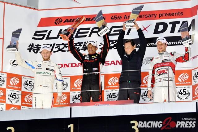 SUPER GT × DTM 特別交流戦 Race2 決勝結果