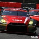 GT300クラス優勝 #11 GAINER TANAX GT-R(平中 克幸/安田 裕信)