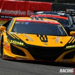 GT300クラス2位 #18 UPGARAGE NSX GT3(小林 崇志/松浦 孝亮)