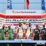 GT300クラス シリーズ表彰式