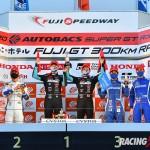 GT500クラス シリーズ表彰式